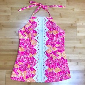 Lilly Pulitzer Beverly Hills Bubbly Jubilee Halter